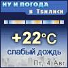 Ну и погода в Тбилиси - Поминутный прогноз погоды